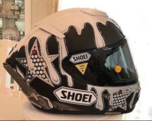 森且行のヘルメット
